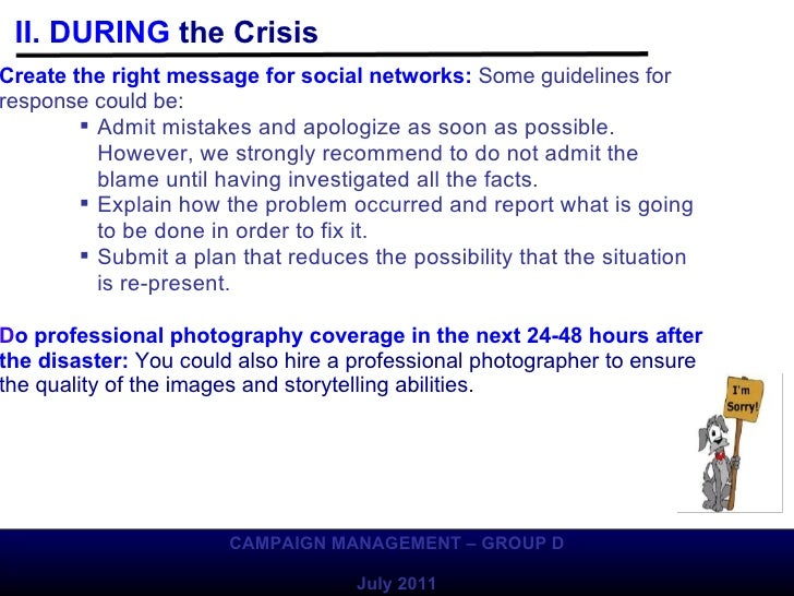 how to develop a crisis management plan