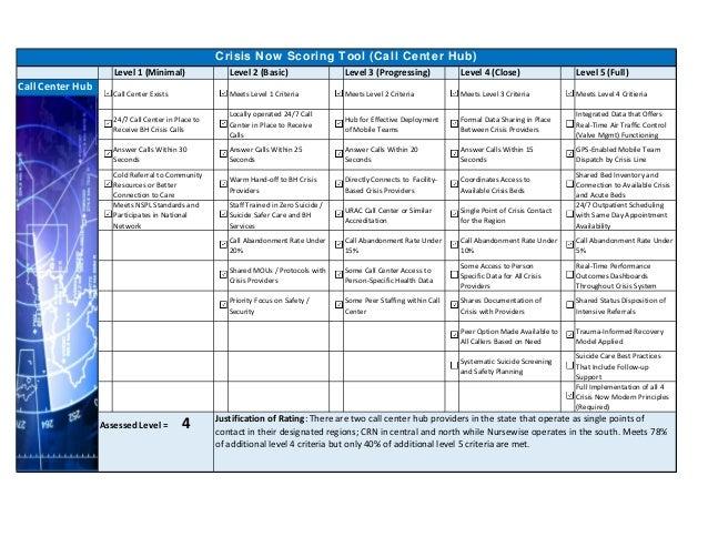 Level1(Minimal) Level2(Basic) Level3(Progressing) Level4(Close) Level5(Full) CallCenterExists MeetsLevel1Cr...