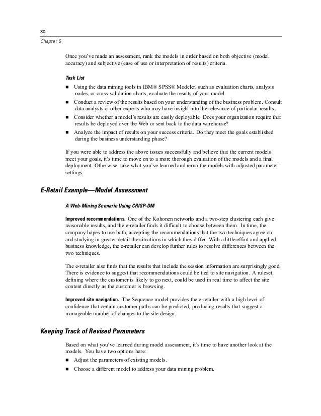 Crisp dm evaluation essay
