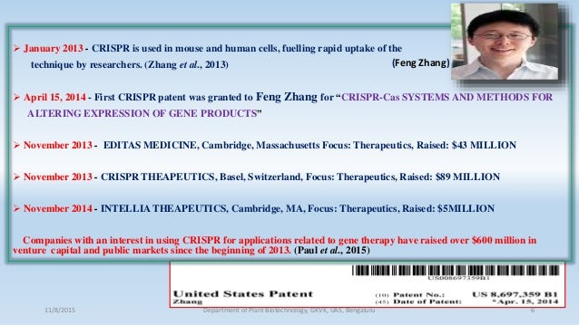  January 2013 - CRISPR is used in mouse and human cells, fuelling rapid uptake of the technique by researchers. (Zhang et...