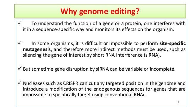 Crispr cas: A new tool of genome editing