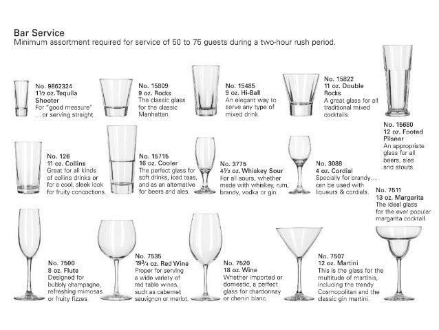 Cristaler a for Vasos para bar