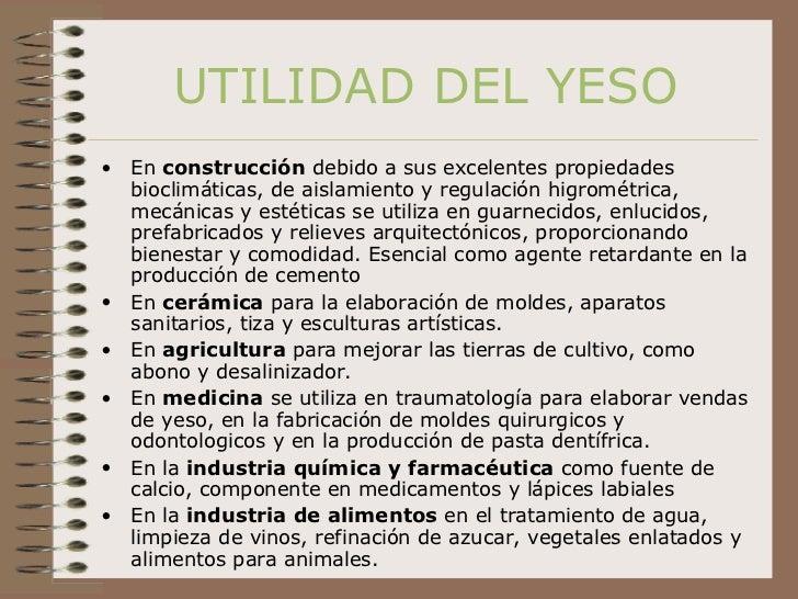 Cristalizaci n yeso - Utilidades del yeso ...