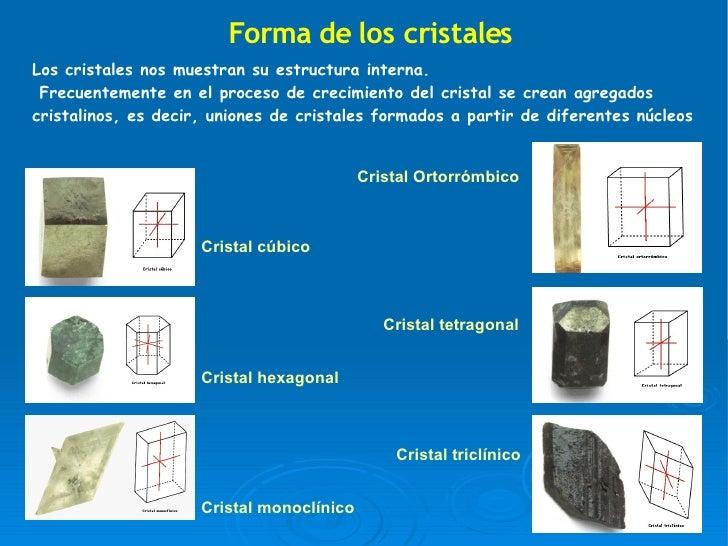 Cristalizaci n corregida 2 - Cristales climalit tipos ...