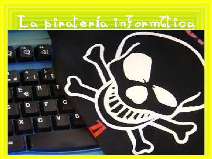 La piratería informática