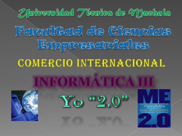 Yo 2.0               EL AUGE DE LAS MARCAS PERSONALES Sea Su Propia Marca:Como individuo, debe reconocer que es una marca....
