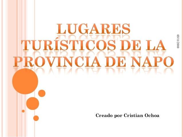 03/11/2010 Creado por Cristian Ochoa