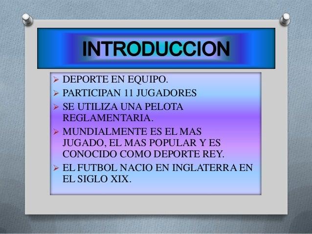 diapositivas de futbol Slide 2