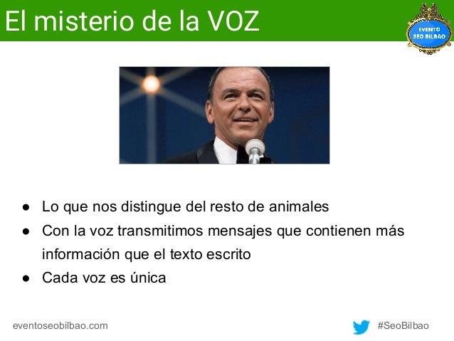Cristina Álvarez - El SEO y la voz Slide 3
