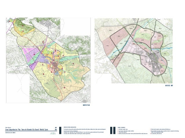 LAND USE MAP Urban Planning Town Comprehensive Plan. Torres de Alameda City Council. Madrid, Spain. CRISTINA GALLEGO GAMAZ...