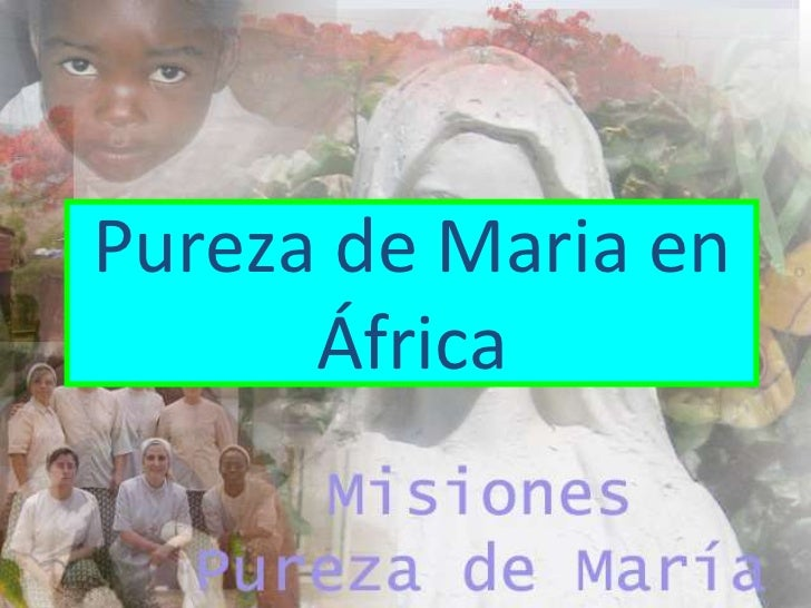 Pureza de Maria en África<br />