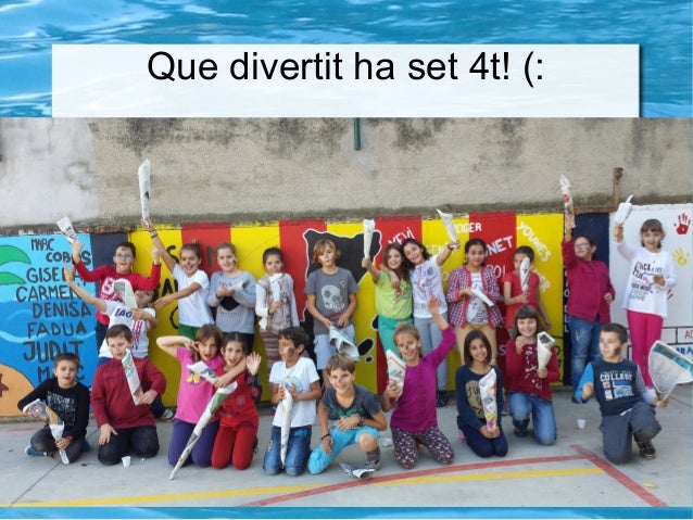Que divertit ha set 4t! (: