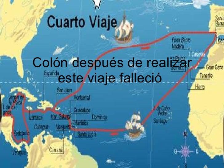 Col n su viaje incierto for Cuarto viaje de cristobal colon