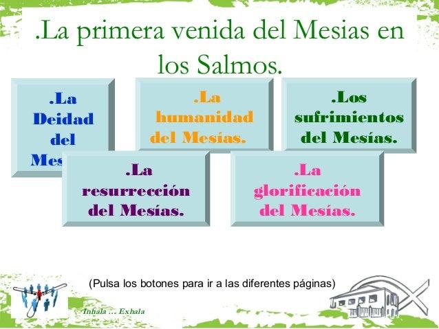 .La primera venida del Mesias en          los Salmos. .La                        .La                       .LosDeidad     ...