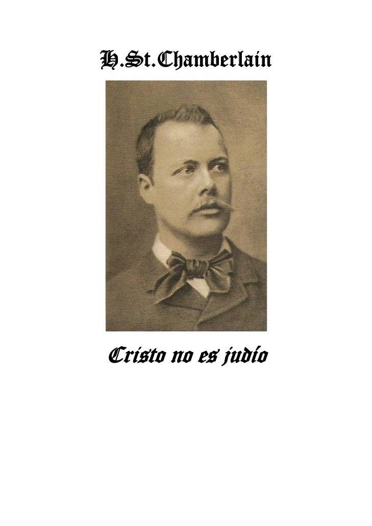 H.St.ChamberlainCristo no es judío