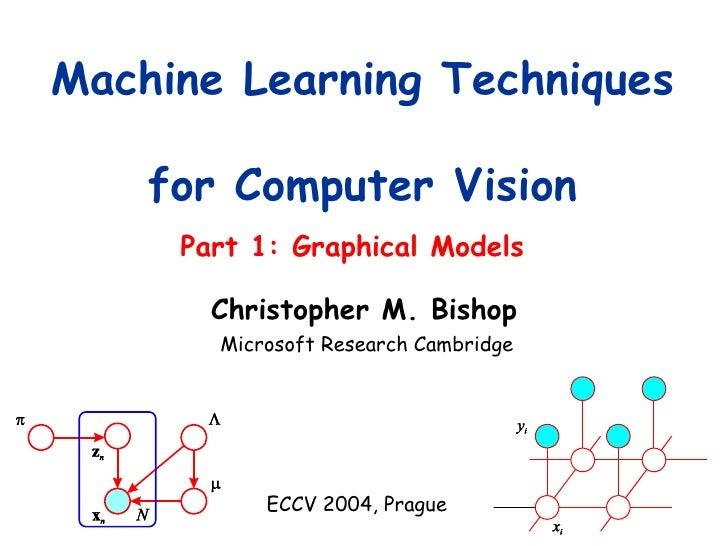 Part 1: Graphical Models Machine Learning Techniques  for Computer Vision Microsoft Research Cambridge ECCV 2004, Prague C...