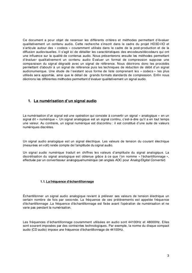 3 Ce document a pour objet de recenser les différents critères et méthodes permettant d'évaluer qualitativement un contenu...