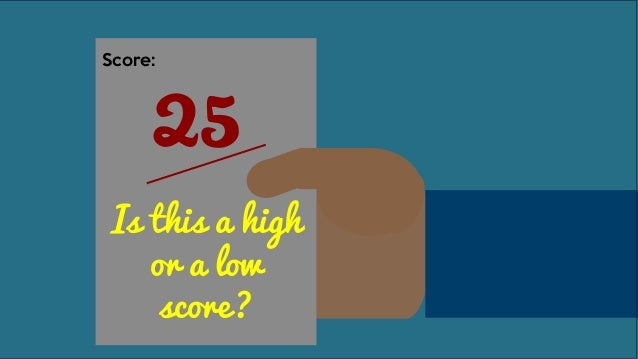 25 Score: If I got this score, how did others do?