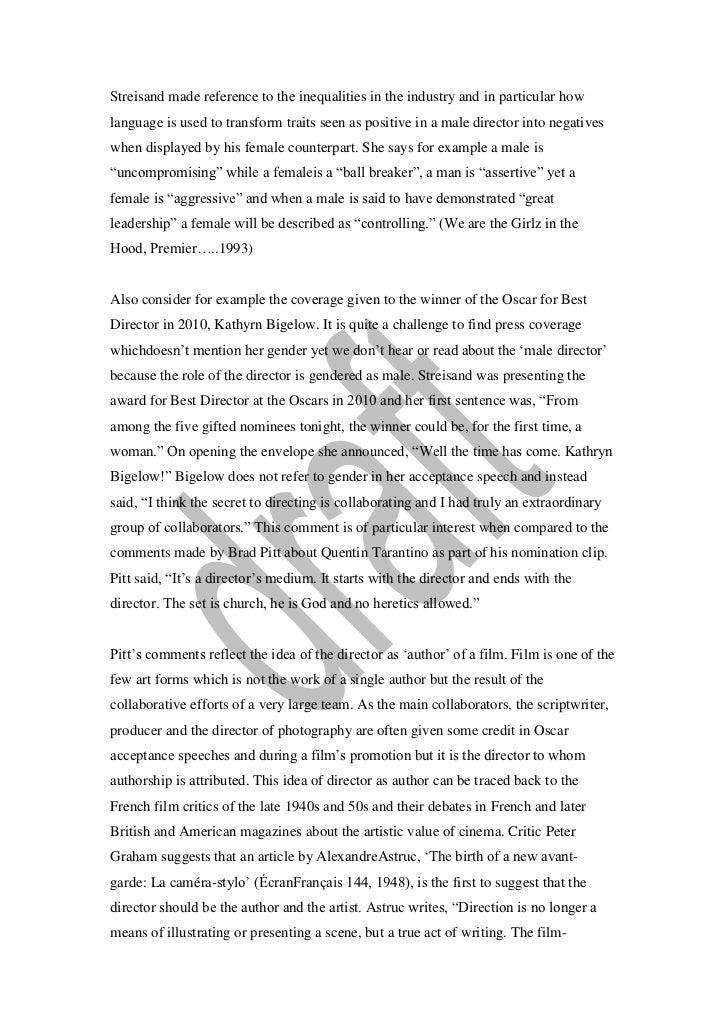 criterion one essay 2