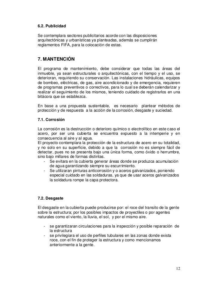 6.2. PublicidadSe contemplara sectores publicitarios acorde con las disposicionesarquitectónicas y urbanísticas ya plantea...