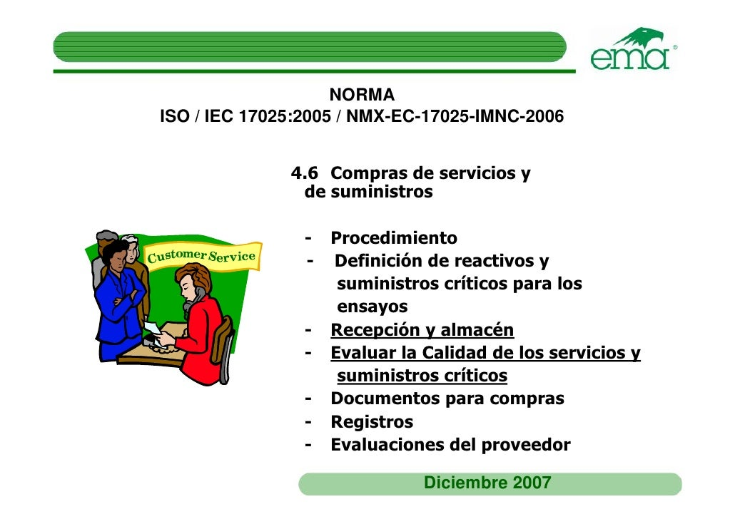 norma nmx-ec-17025-imnc-2006
