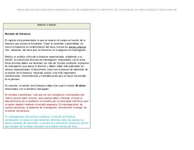 Material elaborado a partir de documentos compartidos por la Dra. María Soledad Ramírez, Dr. Manuel Flores, Dra. Yolanda H...