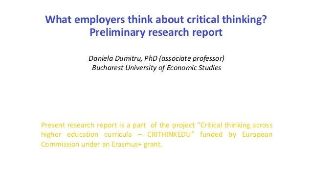 think critical