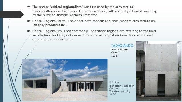 post modern architecture critical essays