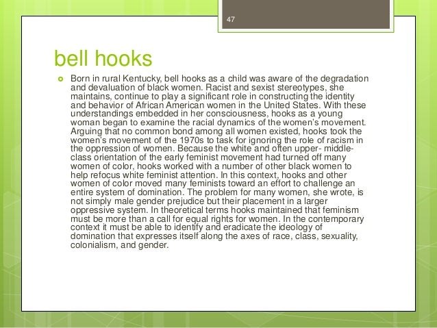Bell hooks essay