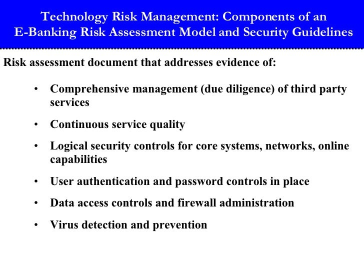 critical security and compliance issues in internet banking