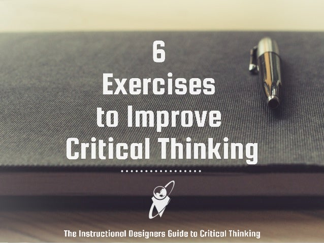 improve critical thinking mcat 3 ways to build critical mcat skills in everyday life and critical appraisal day while you're preparing for the mcat to continuously improve this.