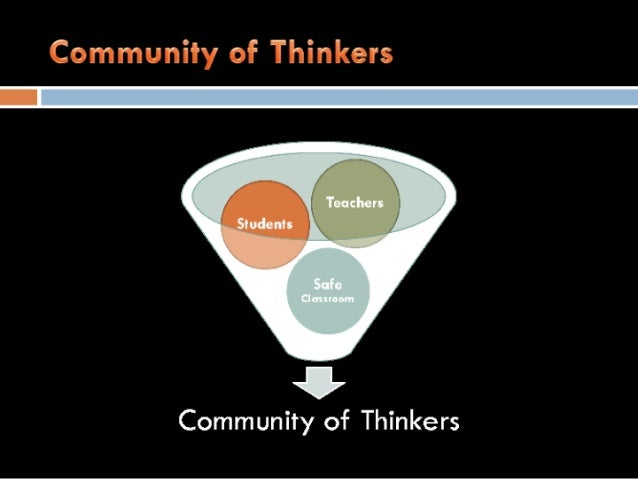 Community of Thinkers       CV  Community of Thinkers