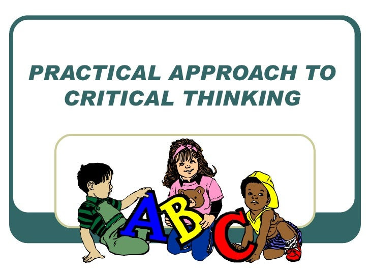 Critical Thinking Homework Help