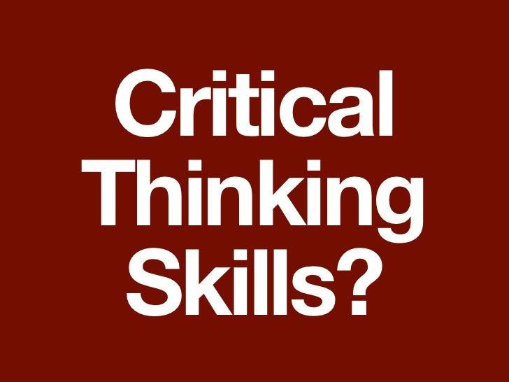 critical thinking essentials applying critical thinking skills