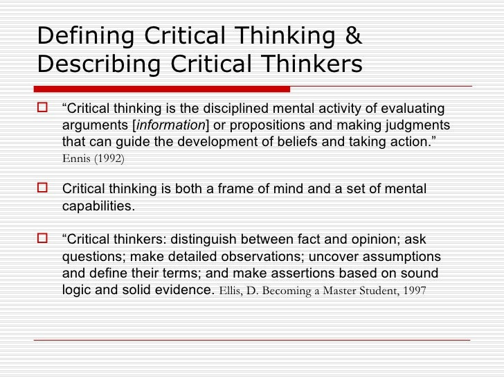 critical thinking in teaching and learning Keywords: critical thinking, online learning, reflective learning teaching critical thinking online journal of instructional psychology, 29, 53-76.
