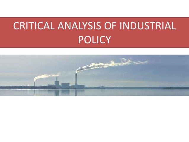 how to write a critical policy analysis