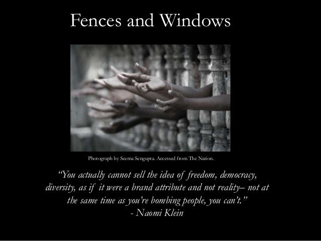 fences critical analysis