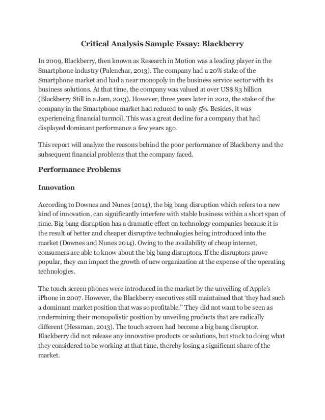 literary essay sample literary essay