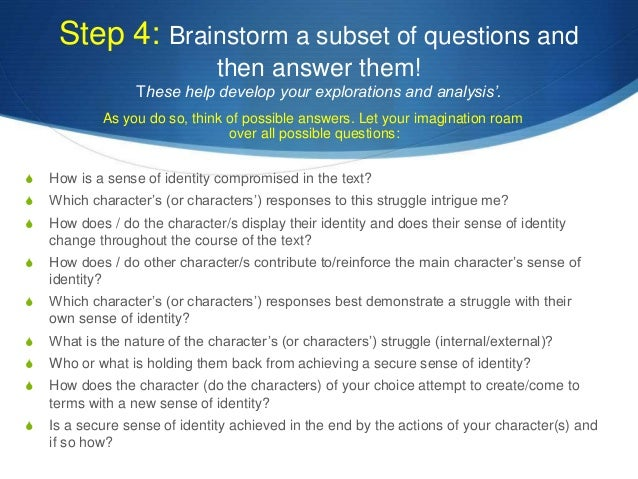 Analytical essay prompts