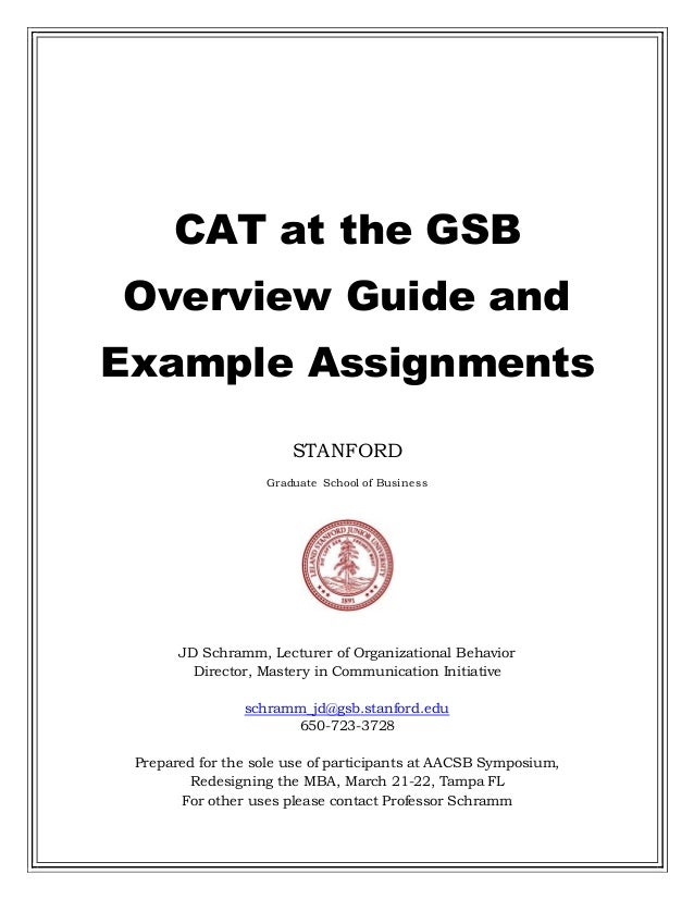 stanford graduate school of business essay questions Since the stanford graduate school of business just released its essay questions for the 2016-2017 admissions season, we are following up with some advice for gsb applicants on how to approach stanford's essays.