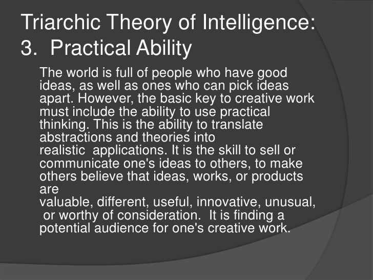 theories of critical and creative thinking Using critical and creative thinking to develop reflective practice as we change our work, learning and lives  phases of research and engagement.