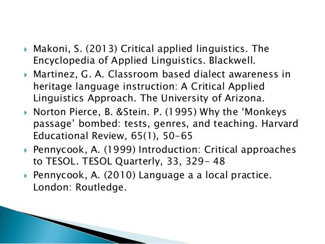 critical review peacock m 1997 the In m hewings & t dudley-evans (eds), evaluation and course-design in eap ( pp 71-85)  exploring iranian esp teachers' subject-related critical incidents   journal of english for academic purposes, 5, 97-116  in j flowerdew & m  peacock (eds), research perspectives on english for academic purposes (pp.