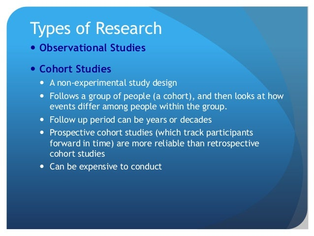 Critical Appraisal of Cohort Studies - Open Access Journals
