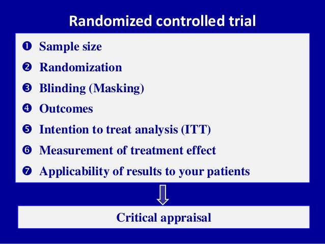 the negative impact of the randomized controlled trials on ebm A randomized controlled trial (or randomized  sample sizes of many negative rcts were too small to  impact of randomized clinical trials on health.