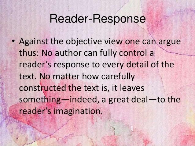 reader response criticism pdf