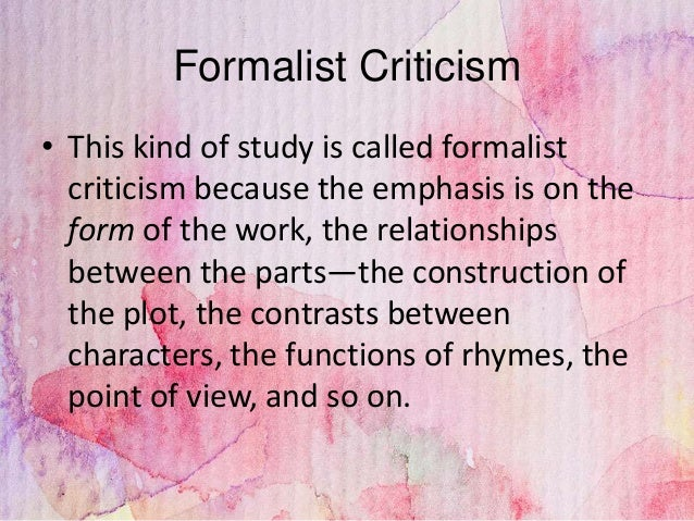Types of critical analysis essay