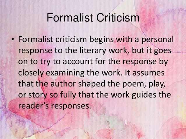 types of literary criticism Below i have summarized some types of literary criticism you might consider  when reading or writing about literature if you're interested in knowing more, see .