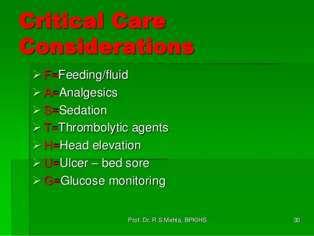 critical care protocols and guidelines