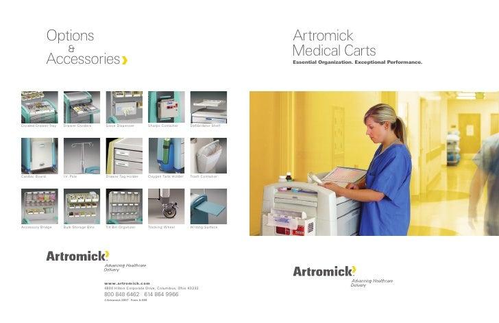 Artromick Medical Carts Essential Organization. Exceptional Performance.