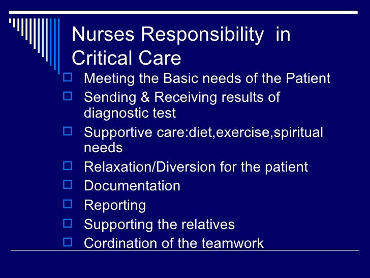 Critical Care Nursing March2012 - DocShare tips